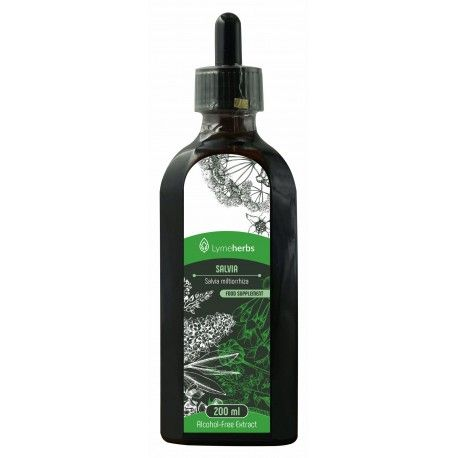 Extracto sin alcohol de salvia (200 ml)