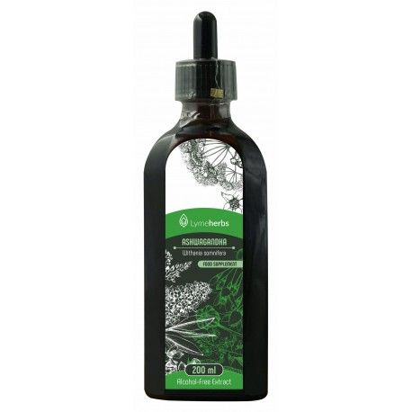 Extracto sin alcohol de Ashwagandha (200 ml)
